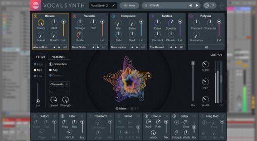 iZotope kündigt VocalSynth 2 und Creative Suite an