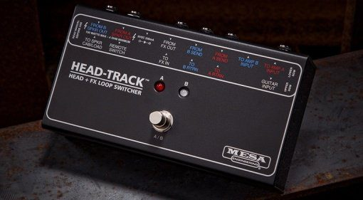 Mesa Boogie Head-Track Switch Umschalter Front