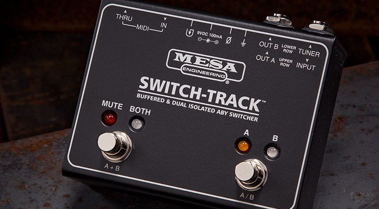 Mesa Boogie Switch-Track ABY Switch Umschalter Front