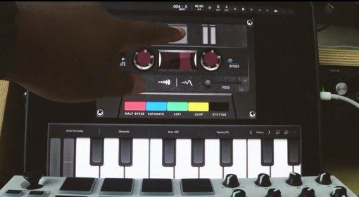 MSXII Sound Design Fly Tape - der Klang der Kassette in iOS