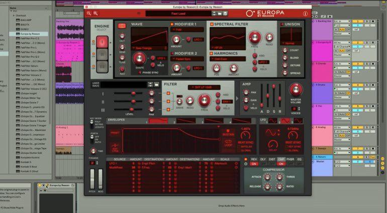 Propellerhead Europa VST / AU