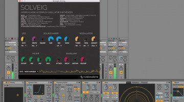 Puremagnetik Solveig bringt die Roland SH-101 in den Rechner