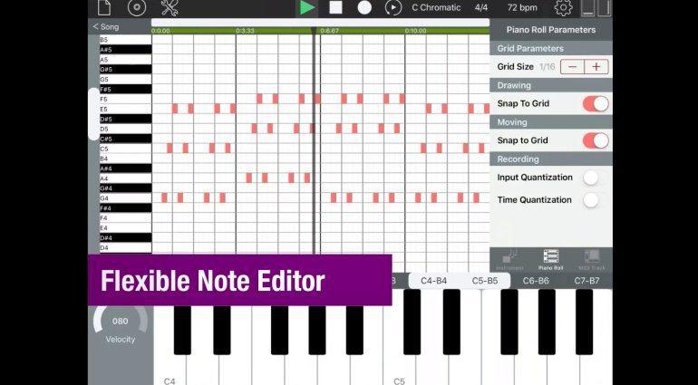 Sequencism - der kostenlose musikalische iOS Notizblock