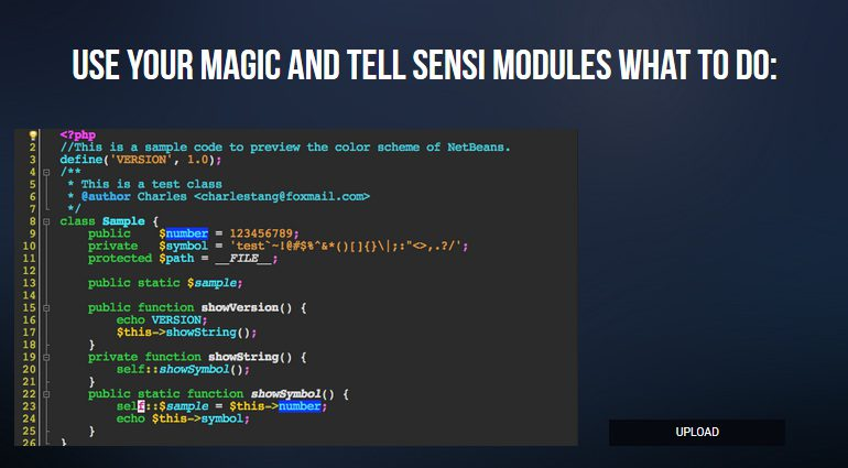Sensi M MIDI Controller Editor