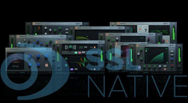 Solid State Logic bietet neue Native V6 Plug-ins als Abo an