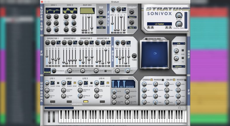 Sonivox Stratum verbindet Super Saws, FM Synthese und moderne Effekte