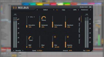 Ihr wollt eine echte virtuelle Bandmaschine - ReelBus 4 ist da