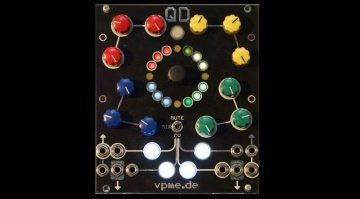 Superbooth 2018: QD – Quad Drum Voice Eurorack Modul von vpme.de