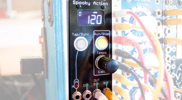 Superbooth18: vpme Spooky Action mit Ableton Link