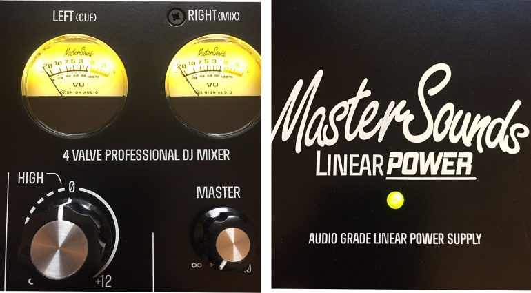MasterSounds Valve Mixer und Power Supply