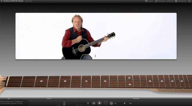 Apple GarageBand Lesson mit America