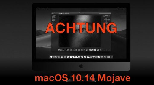 Apple macOS 10.14 Update Teaser