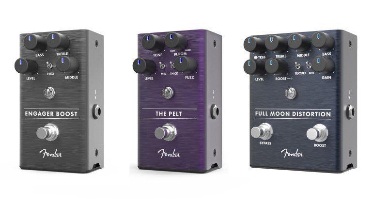 Fender präsentiert drei neue Pedale zur Summer NAMM 2018.