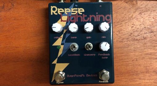 Dwarfcraft Devices Reese Lightning Fuzz Effekt Pedal