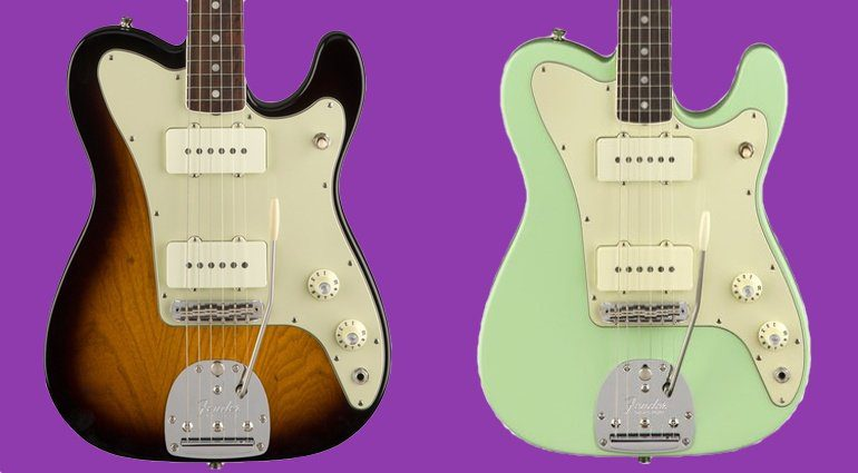 Fender Limited Edition Parallel Universe Jazz Tele TEaser