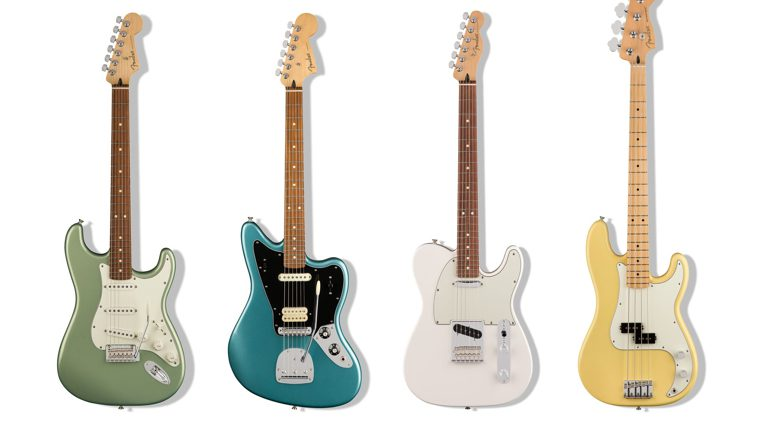 Fender Player Series Group Shot preview