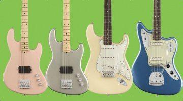 Fender Sommer NAMM 2018 Jaguar Stratocaster Jazz BAss