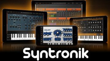 IK Multimedia Syntronik CS - kostenslose Einsteiger Version des großen Synth Bundles