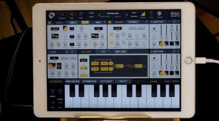 SynthMaster One ab sofort für iOS und AUv3 Support