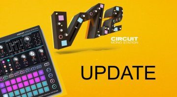 Novation Mono Station Update 1.2
