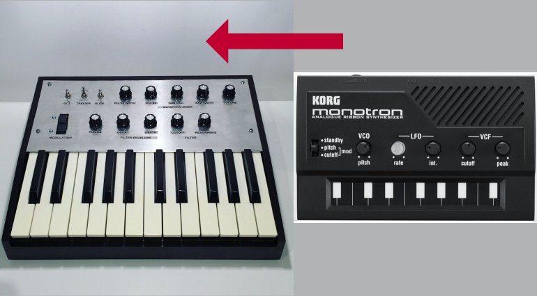 Monotron Keyboard