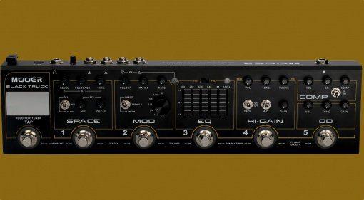 Mooer Black Truck Front Teaser