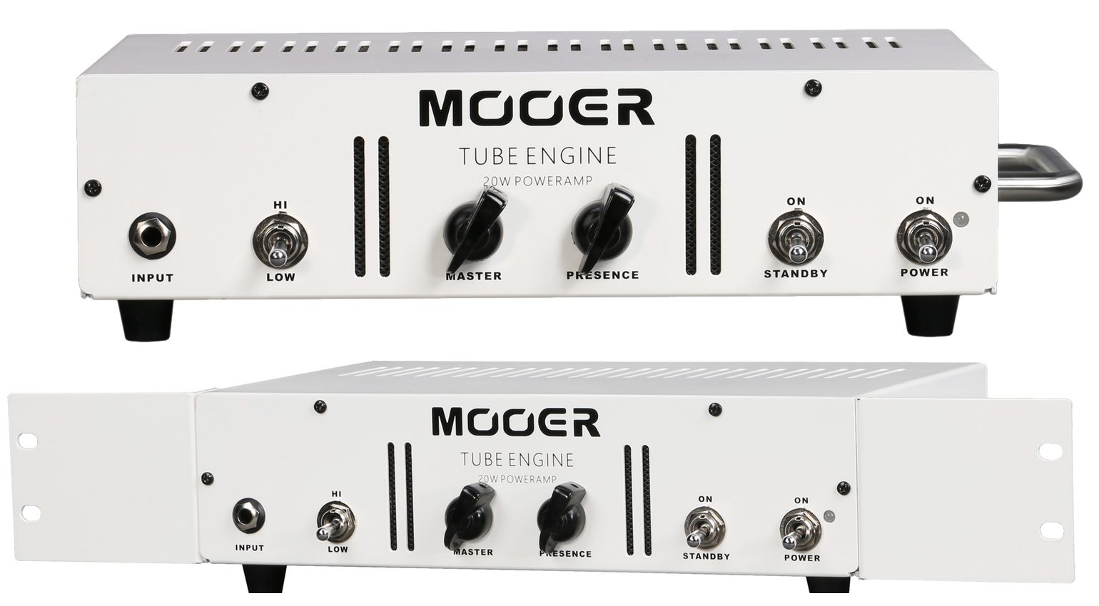 Mooer Tube Engine Front Topteil Rack