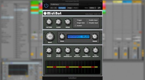 Robby Kilgore MidiBot - Melodien aus dem Plug-in
