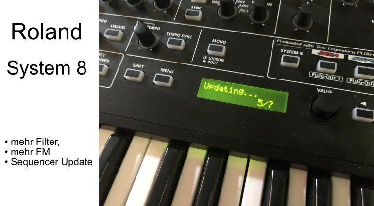 Roland System 8 Update