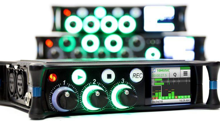 Sound Devices MIxPre-3M Front