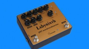 TritonLab-Labyrinth-Dual-Channel-OverdriveDistortion-pedal