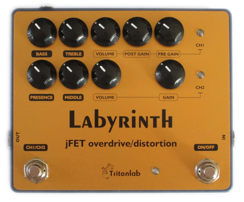 TritonLab-Labyrinth-Dual-Channel-OverdriveDistortion