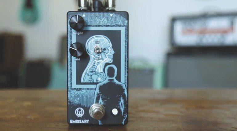Walrus Audio Emissary Parallel Boost Effekt Pedal Front