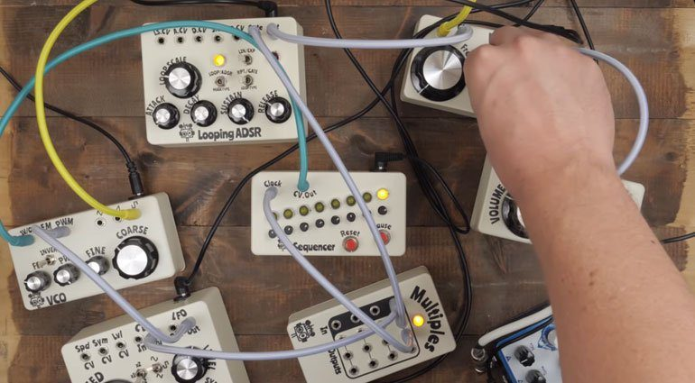 Hungry Robot Modular sind Synthesizer Module im Bodentreter-Format