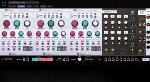 Softube lizensiert offiziell Mutable Instruments Clouds