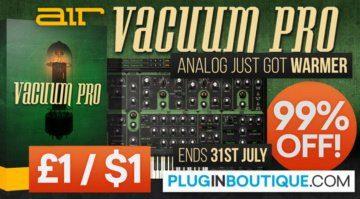 Deal: Air Music Tech Vacuum Pro zum Schnäppchenpreis!