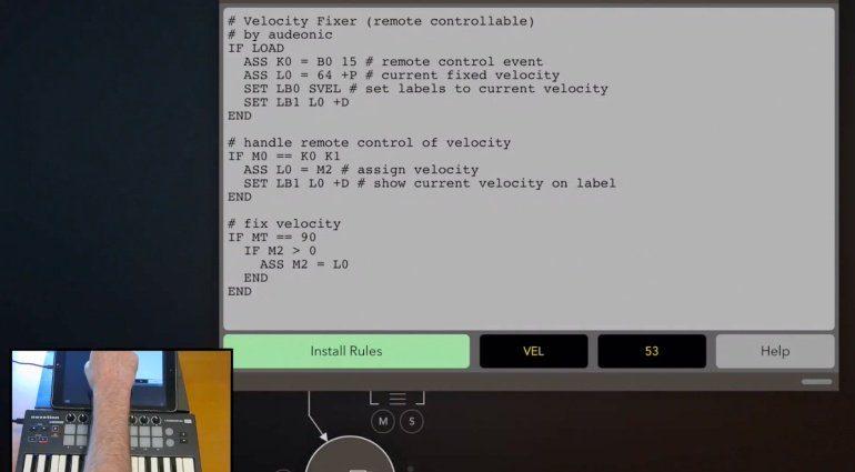 Audeonic Apps StreamByter - MIDI-Effekte programmieren mit iOS
