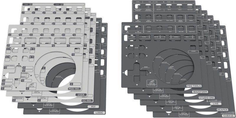 Behringer X-Touch One Overlays