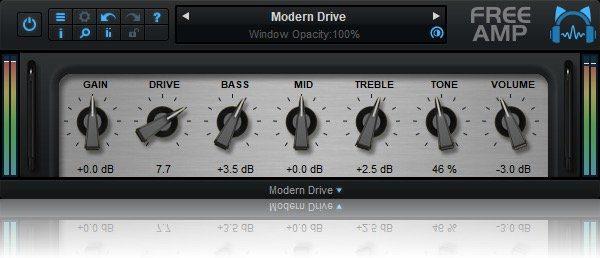 Blue Cat Audio Free Amp Modern Drive