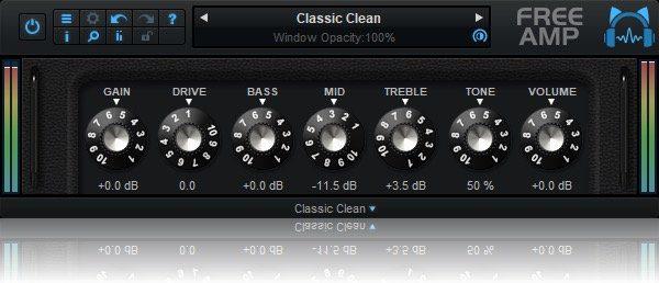 Blue Cat Audio Free Amp The Classic Clean