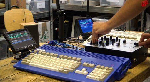 Commodore Amiga DJ Setup