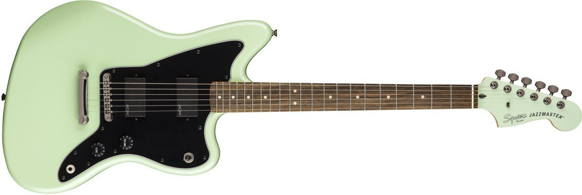Contemporary Jazzmaster Front- Surf Pearl