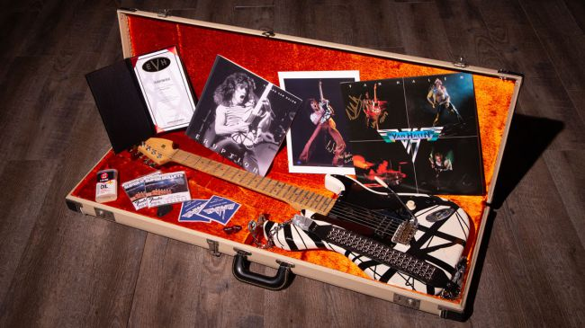 EVH with case candy