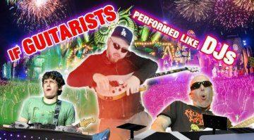 GearGods Gitarrist als DJ Videotipp