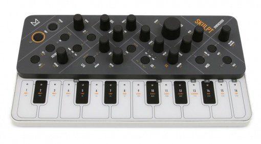 Modal Skulpt Synthesizer