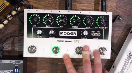 Mooer Preamp Live Front