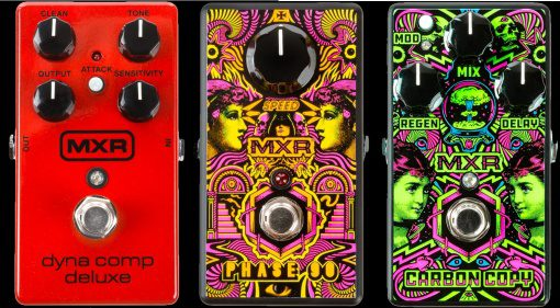 MXR Dyna Comp Deluxe I Love Dust Carbon Copy Phase 90
