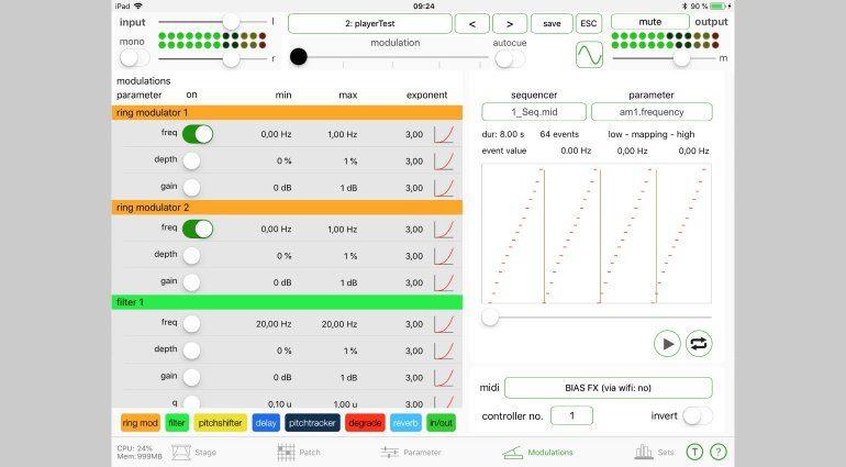iLep - modulare iOS Effekte für Musiker