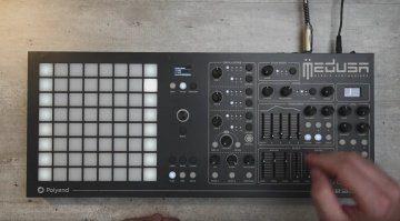 Polyend Dreadbox Medusa Demo Video Hybrid Synthesizer Front