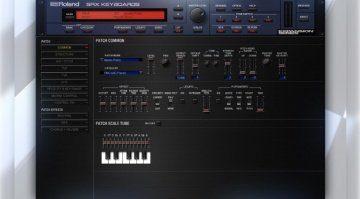 Roland kündigt SRX Keyboards für die Cloud an